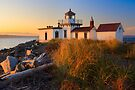 West Point Lighthouse by Inge Johnsson