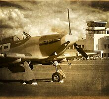 Waiting for the Scramble - 1940 by Colin J Williams Photography