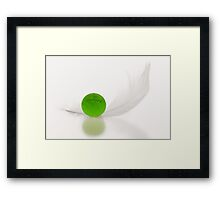 Featherweight Framed Print