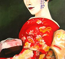 Maiko 舞妓 by Midori Furze