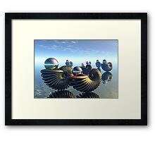 Pearl keepers -1 Framed Print