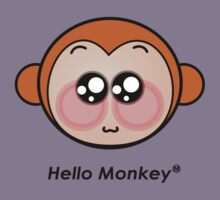 Hello Monkey T-shirts by sgame