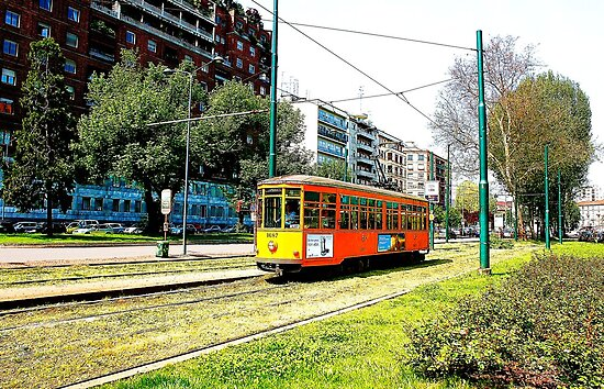milan tram by xxnatbxx