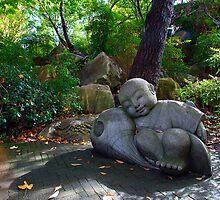 Sleeping Boy Buddha by Dale Allman