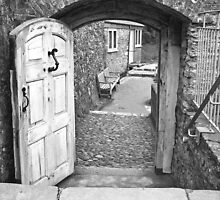 Dartmouth Castle - The door to... by JRHPhotography