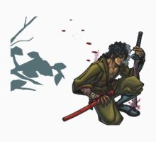 Ninja Scroll stance by milkyt