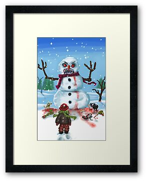 Little Timothys LAST Snowman by mdkgraphics