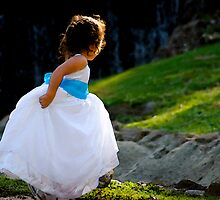 A Playful Flowergirl by Regenia Brabham