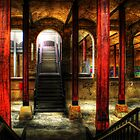Paddington Reservoir Undergound by clydeessex
