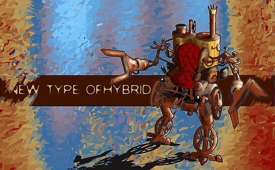 New Type of Hybrid by Arty Karpinsky