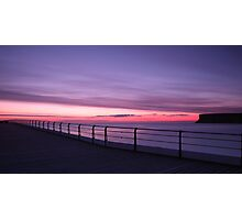 Saltburn Pier, Sunrise Photographic Print