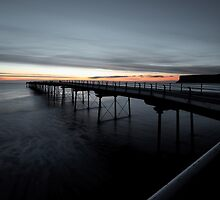 Saltburn Pier, Sunrise (II) by PaulBradley