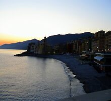 Camogli at the twilights by sstarlightss