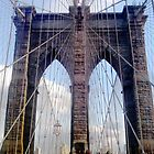 Brooklyn Bridge, New York, Perspective  by corder-courtier