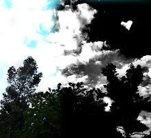heart cloud - two sides to life by ryan  krupnik