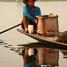 boatman of inle lake by Colinizing  Photography with Colin Boyd Shafer