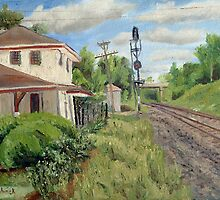 Tuxedo Park Train Station - Webster Groves by Daniel Fishback