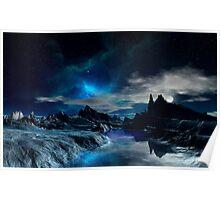 Worlds of the Blue Nebula Poster