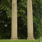 Columns at old Springfield Outdoor Concert Hall by wsteed04