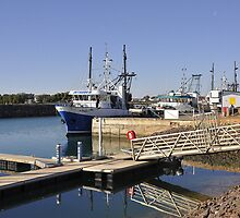 Prawn Trawlers  - Wallaroo, South Australia by chijude