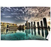 Dubai Mall Cityscape Poster