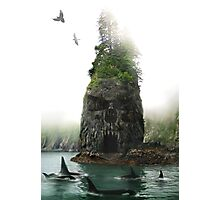 Skull Island Photographic Print