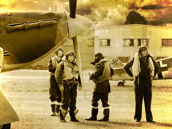 Pilots - 1940 by Colin J Williams Photography