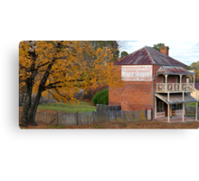 Robert Northey General Produce - Hill End NSW Australia Canvas Print