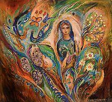 The Blessing of Grapes by Elena Kotliarker