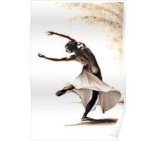 Eclectic Dancer Poster