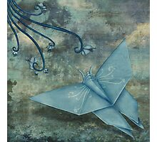 Origami Butterfly Photographic Print