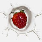 Splash of Strawberry by Jane Brack