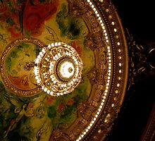 Chagall's Ceiling - Opéra Garnier in Paris by Britland Tracy