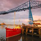 Transporter Bridge, Middlesbrough, Cleveland by James Paul