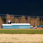 Stormy Montana Farm by rocamiadesign