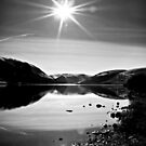 Sparkling Sun light Over St.Mary&#x27;s Loch,Scotland. by Aj Finan