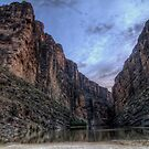 A View into Santa Elena Canyon  by Terence Russell