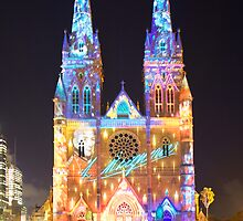 Macquarie Visions @ St Mary's Cathedral by Milton Gan