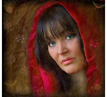 The Red cape Photographic Print