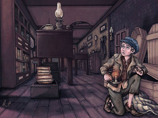 Oliver Twist by littlerosered