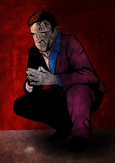 Harvey Dent/Two-Face by matthewdunnart