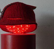 (572) Red felt (card) by Marjolein Katsma