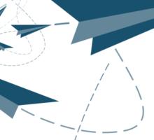 Paper Darts / Planes Sticker