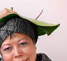 (606) Anything can become a hat! (card) by Marjolein Katsma