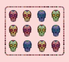 Technicolour Skulls by TeeArt