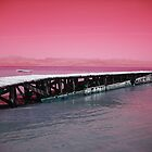 Jetty at Dusk by Daniela Di-Benedetto