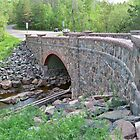 Recent renovation to stone arch Bridge in Duluth area by kodakcameragirl