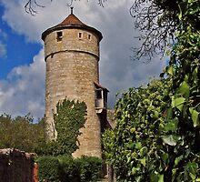 Rothenburg Tower by David J Dionne