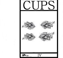 4 of Cups by Peter Simpson