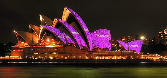 Vivid Sydney #2 - Sydney Opera House - The HDR Experience by Philip Johnson